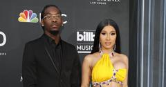 Cardi B And Offset Red Carpet 'Vogue' Interview