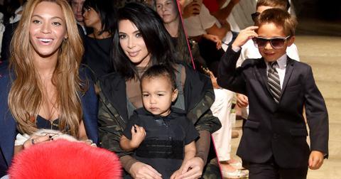 Celebrity kids fashion week children runway pp