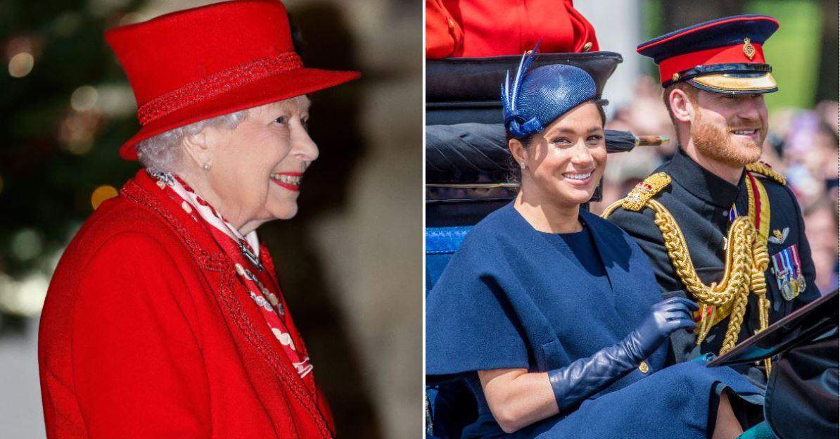 the queen prince charles more react to meghan markle prince harry bundle of joy