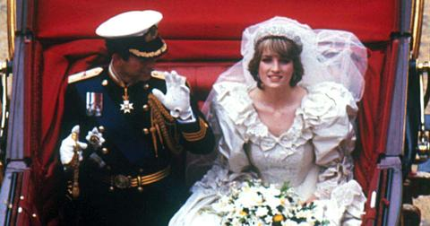 Prince Charles and Princess Diana's royal wedding.