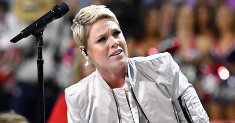 pink response fan dissed super bowl performance pp
