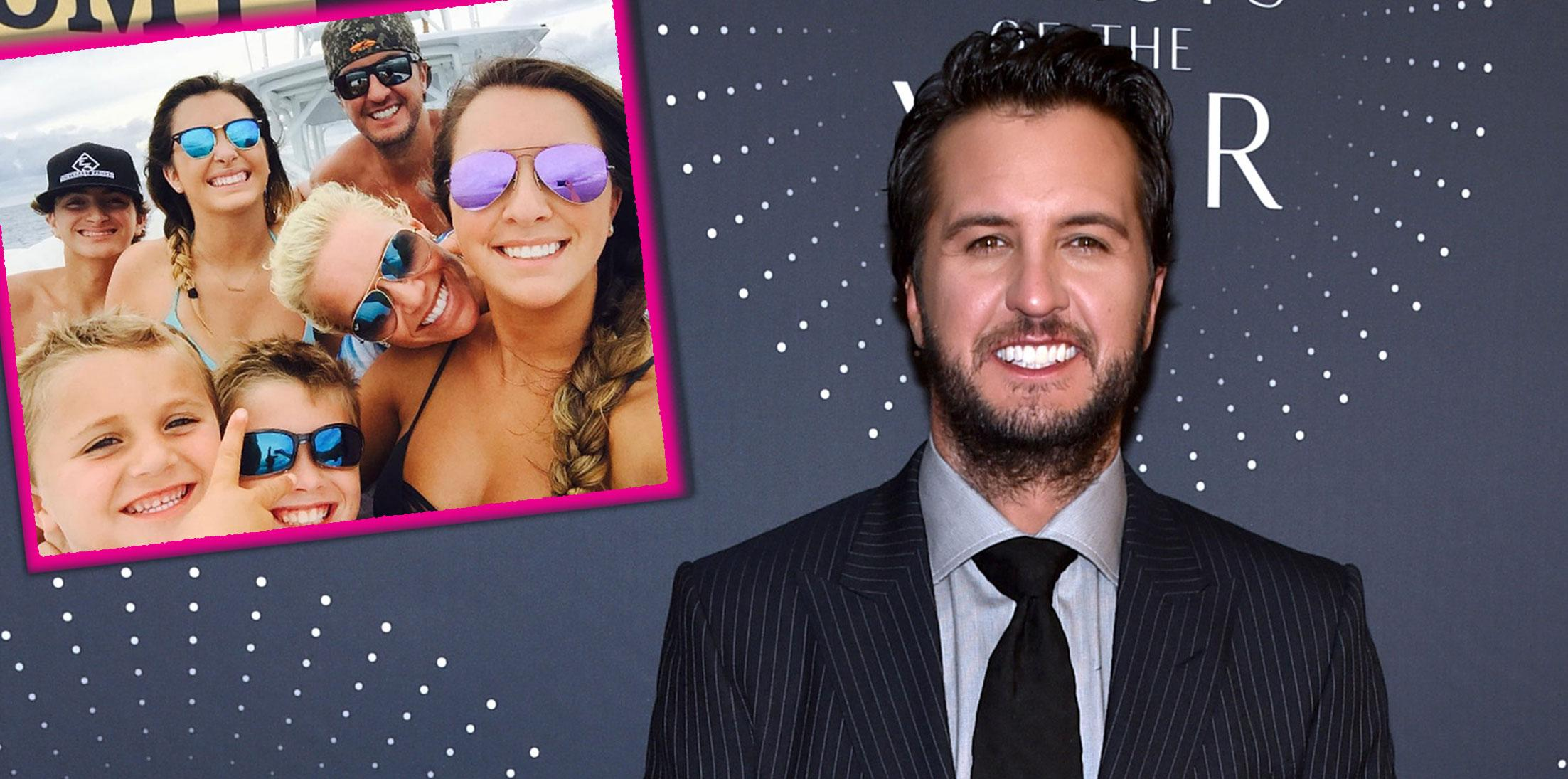 Luke Bryan Took In Late Sisters Kids Long