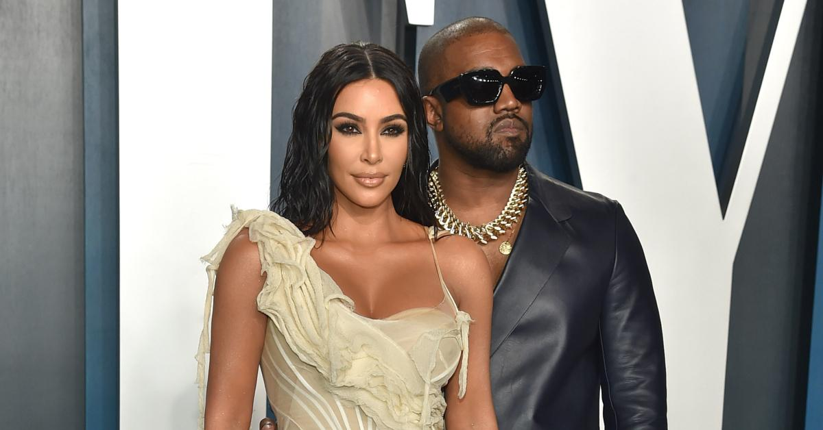 Kim Kardashian & Kanye West Have 'No Contact' & 'Continue To Live Separate Lives' As Their Divorce Drama Heats Up