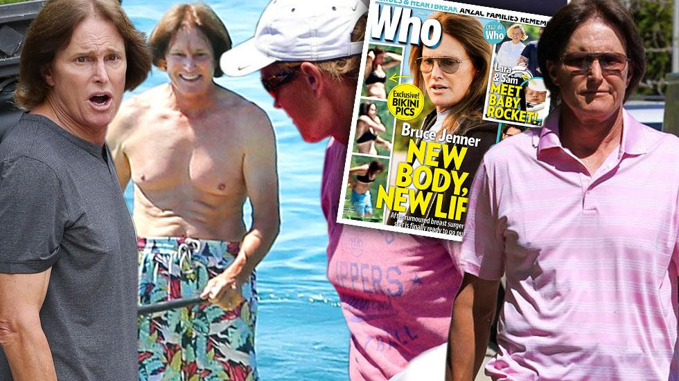 Bruce jenner boob job woman before after