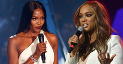 Tyra banks naomi campbell feud fight scared hero