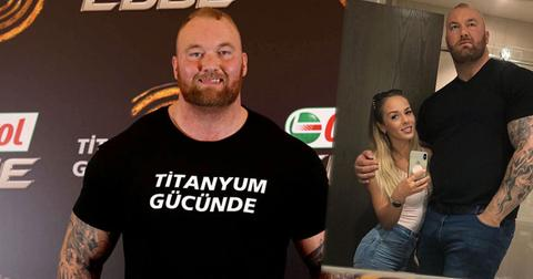 Game Of Thrones The Mountain Thor Bjornsson Weds Girlfriend PP