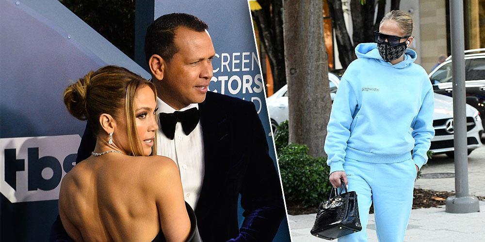 Jennifer Lopez Alex Rodriguez split with JLo hand in pocket