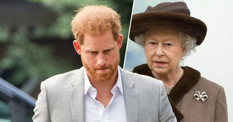 Prince Harry Refuses To Stay At The Queen's House During U.K. Trip