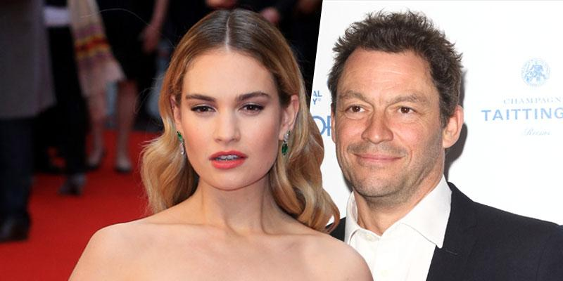 [Lily James] And [Dominic West] PDA Scandal: Everything We Know