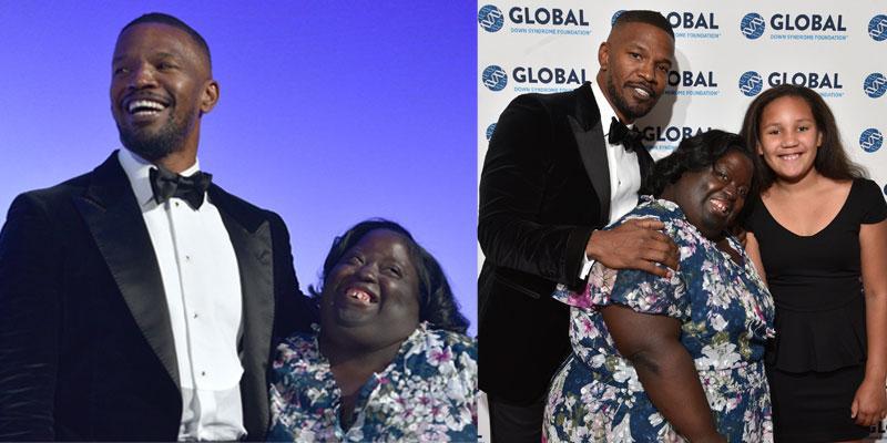 Jamie Foxx Sister DeOndra Global Down Syndrome Foundation Pics PP