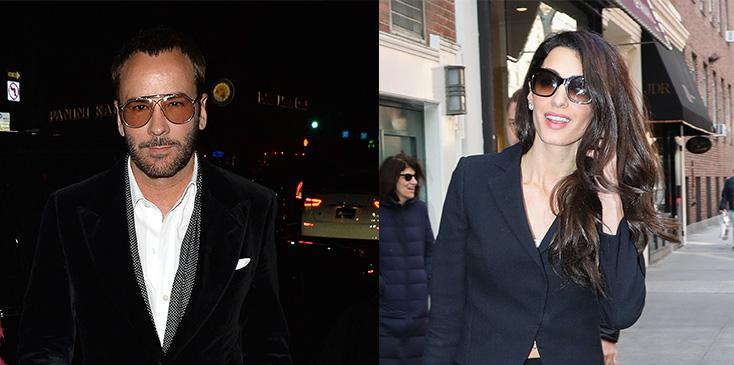 Tom ford feud with amal clooney