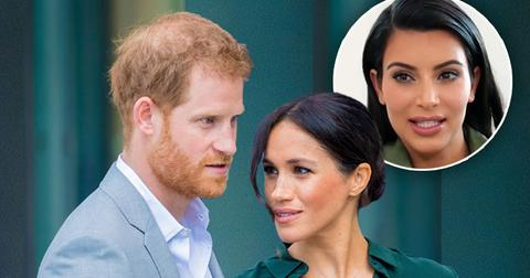 [Prince Harry] and [Meghan] 'Look Down' At Reality Star [Kim Kardashian]