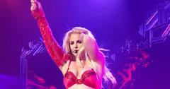 Britney Spears performs live at Planet Hollywood Resort & Casino