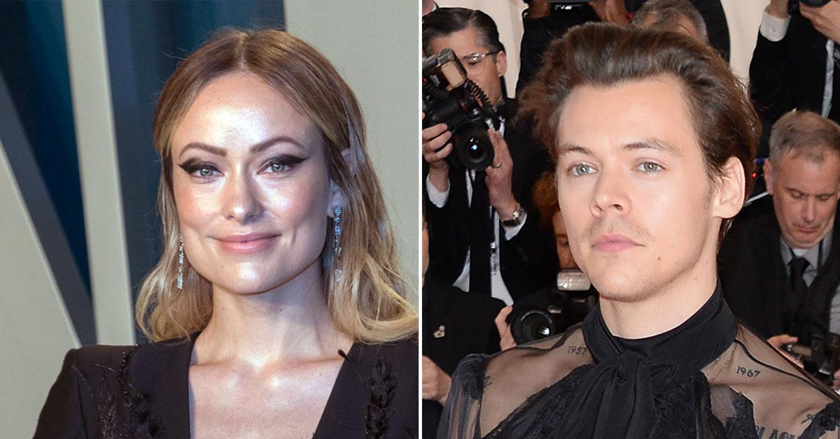 Olivia Wilde & Fashion-Forward Beau Harry Styles 'Share Everything' — Including Clothes And Dresses