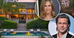 //jennifer aniston brad pitt beverly hills mansion sells photos