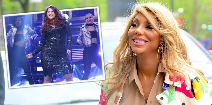 Tamar Braxton Disses Meghan Trainor Fall The Tonight Show