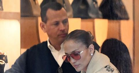 Jennifer Lopez & Alex Rodriguez Shop For Christmas Gifts In Miami