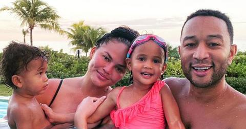 Chrissy Teigen And John Legend With Their Kids