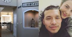 Javi marroquin lauren new home photos