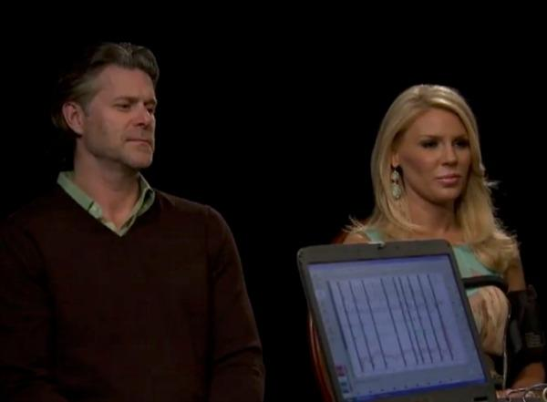 Gretchen Rossi and Slade Smiley take a lie detector test on Marriage Boot Camp Reality Stars