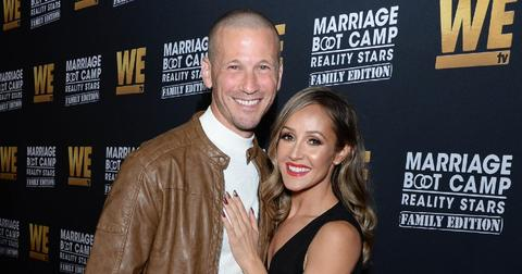 JP Rosembaum and Ashley Hebert at WE tv Celebrates the Premiere of Marriage Boot Camp: Family Edition