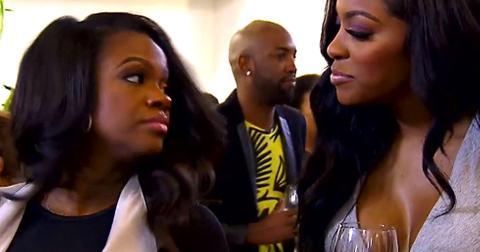 Kandi Burruss Confronts Porsha Williams