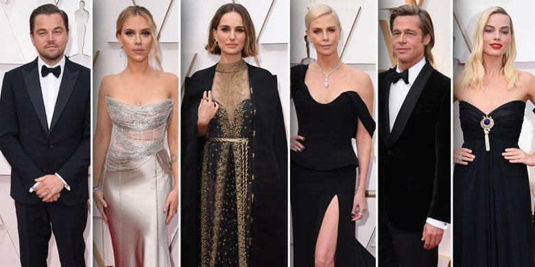 Oscars 2020 Academy Awards Red Carpet Arrivals Photos Looks