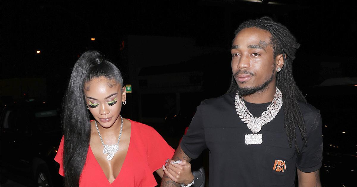 former couple quavo saweetie address elevator physical altercation