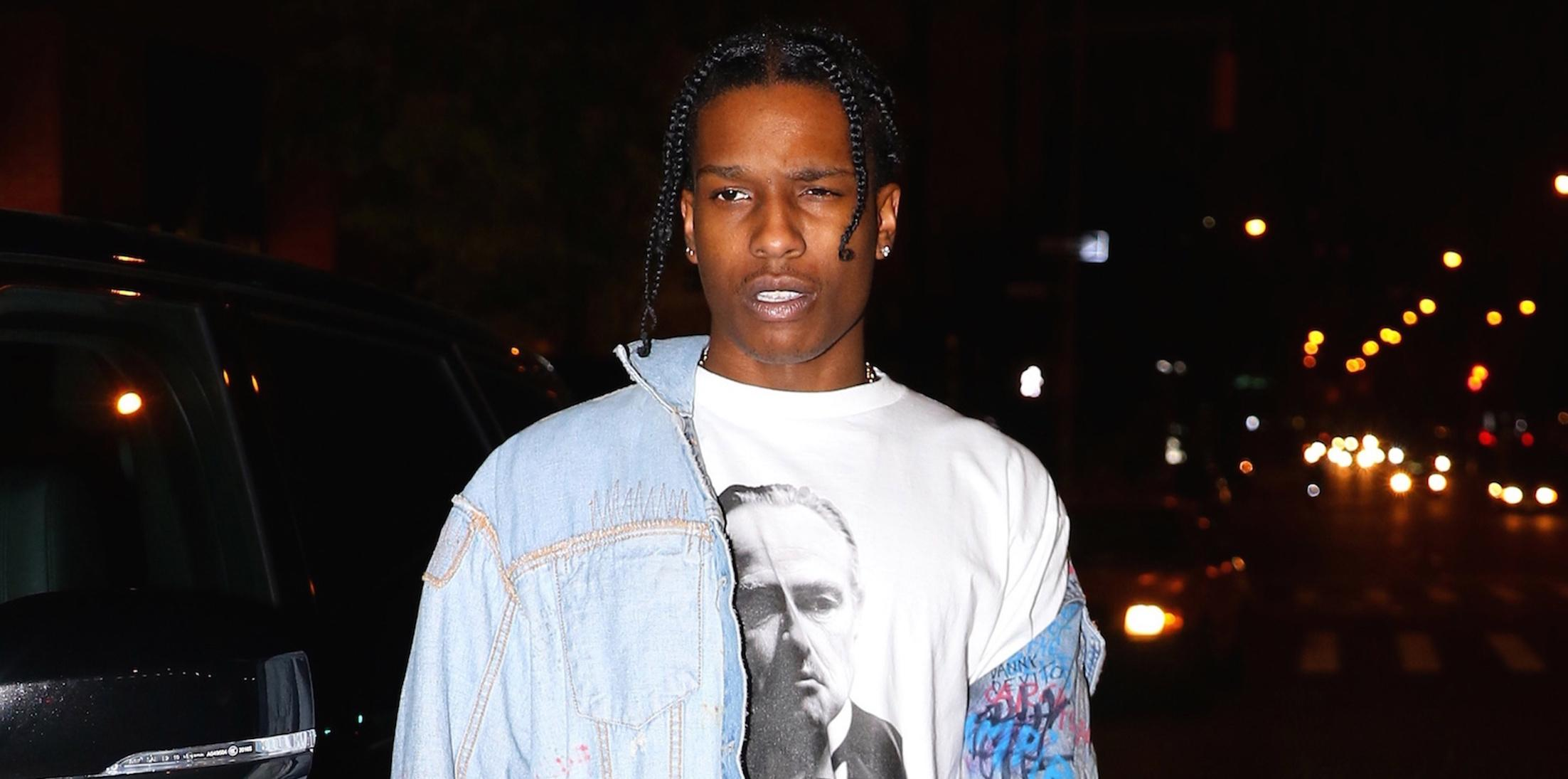 ASAP Rocky spotted Kendall Jenner's home with a ring on his finger