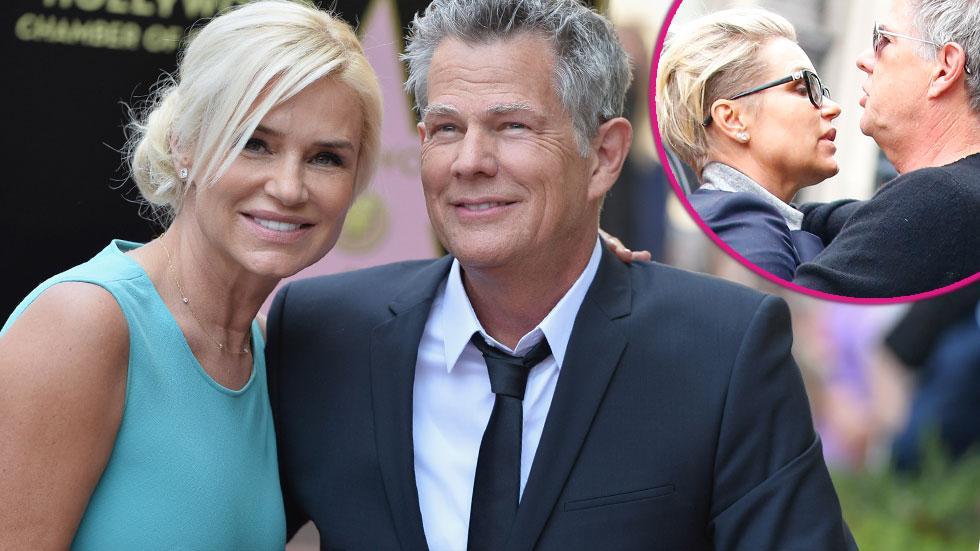 David Foster Divorce Illness Comments Yolanda Foster