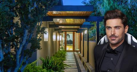 Zac Efron Lists Home In The Los Feliz Oaks
