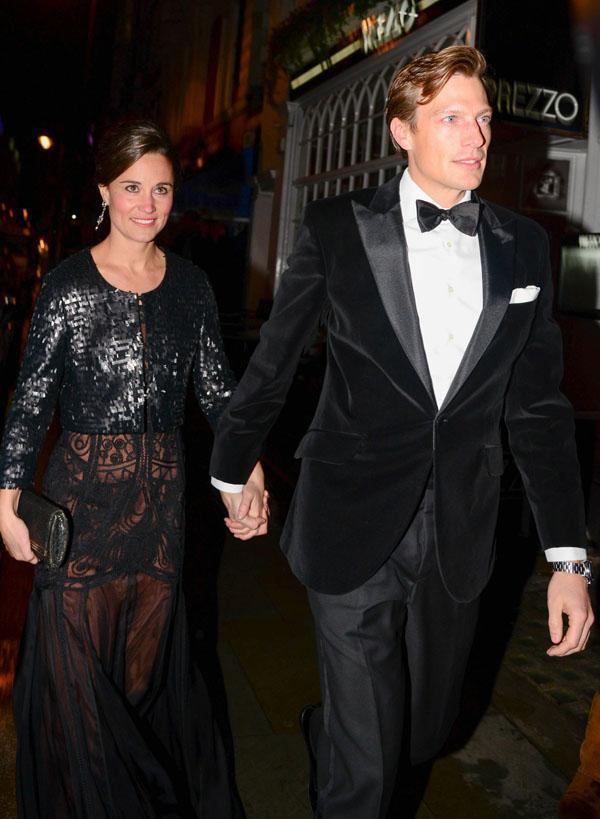 Pippa Middleton & Nico Jackson Step Out On The Town