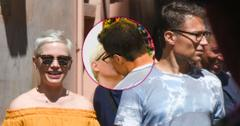 Michelle Williams New Boyfriend Kissing Rome Long