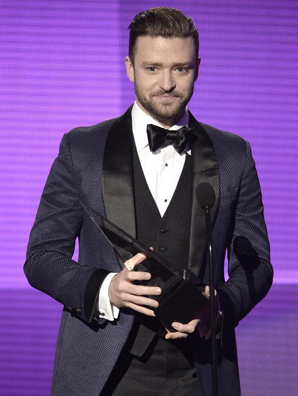 Justin timberlake ama awards