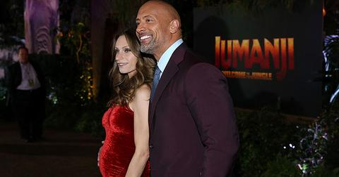 Dwayne johnson lauren hashian baby bump main
