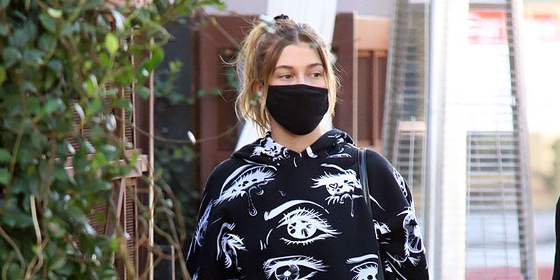 Hailey Baldwin runs errands in West Hollywood