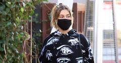 Hailey Baldwin runs errands in West Hollywood