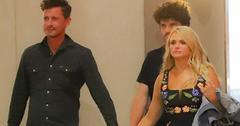 Miranda lambert holds hands with boyfriend evan felker pics