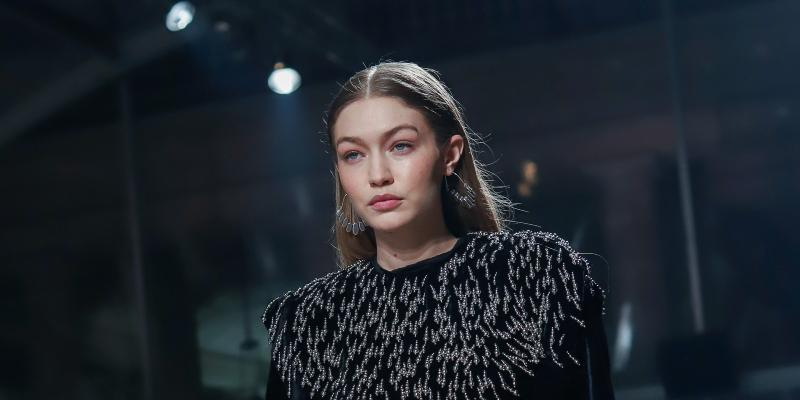 Gigi Hadid at Isabel Marant show as part of the Paris Fashion Week Womenswear Fall/Winter 2020/2021