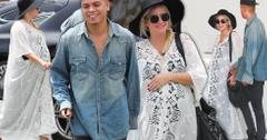 Pregnant Ashlee Simpson Holds Hands With Evan Ross