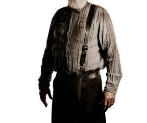 Scott Wilson as Hershel on The Walking Dead