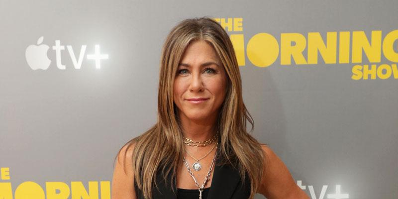 Jennifer Aniston In Vest On 'Morning Show' Red Carpet Intermittent Fasting