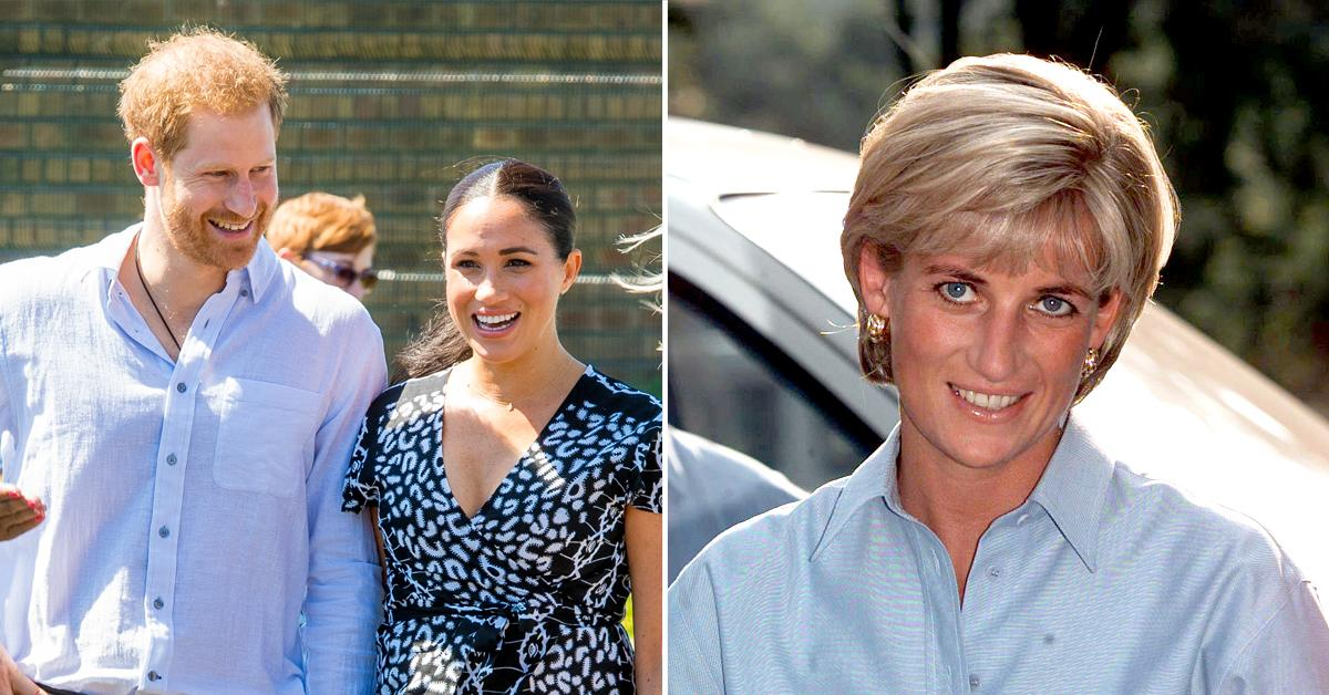 prince harry wanted to name his future daughter after late mother diana even before he met meghan markle