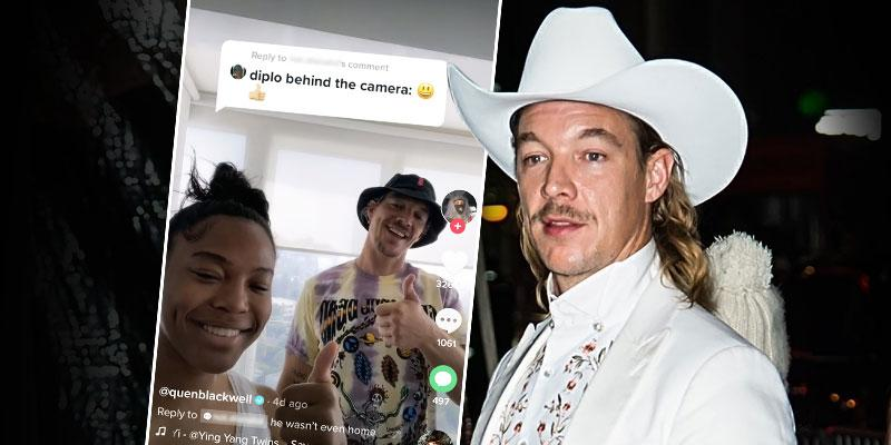 19 Year Old Quenlin Blackwell Defends Living With 41 Year Old DJ Diplo