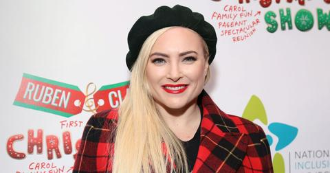 Meghan McCain Shares Her First Christmas With Daughter Liberty, Watch