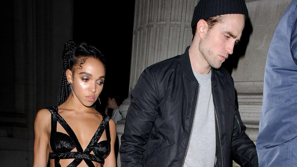 Robert Pattinson and FKA Twigs at the Brits afterparty