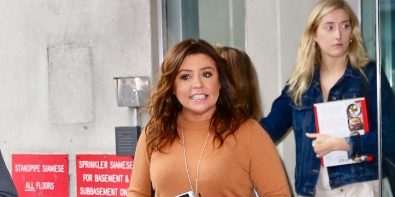 Rachael Ray is seen leaving CBS Studios.