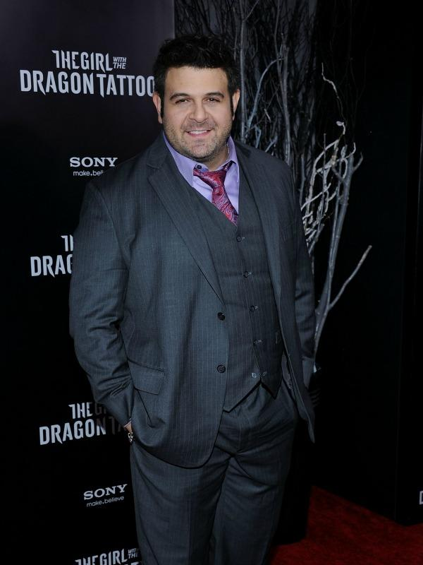 Extreme Weight Loss: Man vs. Foods Adam Richman Poses