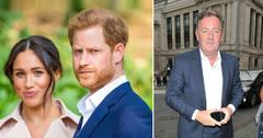piers morgan royal family thanked him invites meghan markle prince harry interview