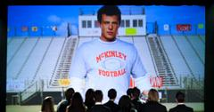 Finn cory monteith tribute episode glee